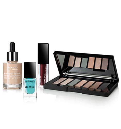 Immagine dei prodotti della linea make up Super Wow