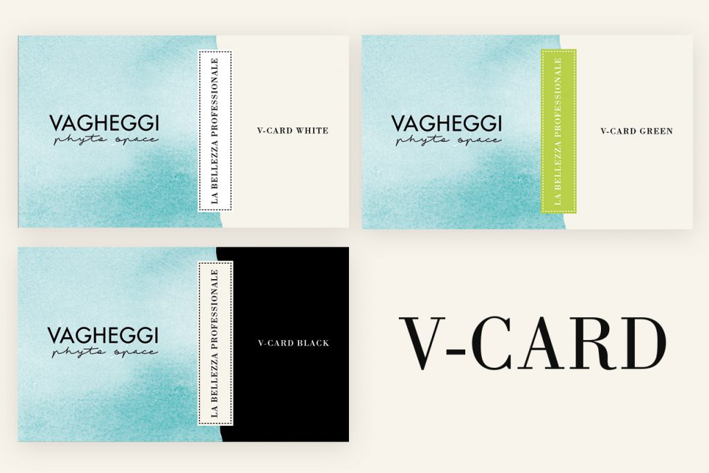 le tre v-card di vagheggi