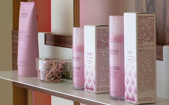 Immagine dei cosmetici naturali di Vagheggi che possono essere trovati nel negozio Phyto Space di Verona